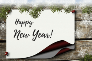 happy new year from Spa Warehouse in Hagerstown, MD