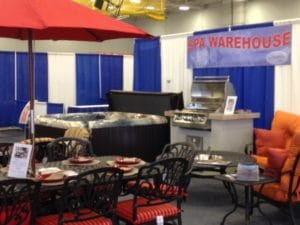 Spa Warehouse at HBA Home Show at Hagerstown Community College